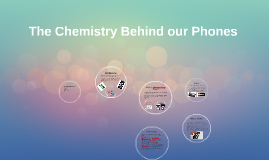 The Chemistry Behind Cellphones