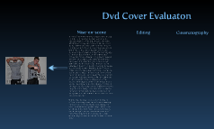 Dvd cover Evaluation