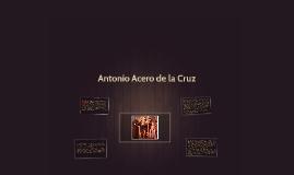 Antonio Acero de la Cruz