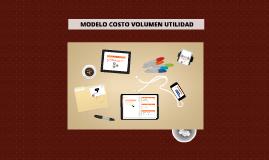 MODELO COSTO VOLUMEN UTILIDAD