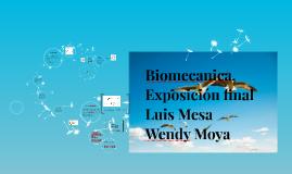 Biomecanica, Exposicion final