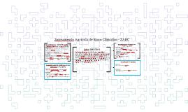 Zoneamento Agrícola de Risco Climático - ZARC