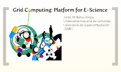 Grid Computing: Platform for E-Science