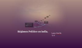 Régimen Político en india.