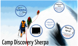 Camp Discovery Sherpa