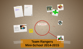 Team Rangers Mini-School 2014-2015