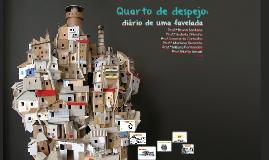"""Aulão interdisciplinar: """"Quarto de Despejo"""" (2018, parte I)"""