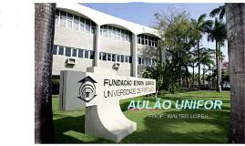 AULÃO UNIFOR
