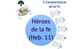 EPÍSTOLAS A LOS HEBREOS CLASES 14 - 17