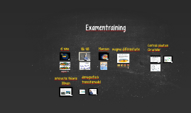 Examentraining