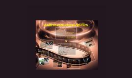 Análisis estructural del film