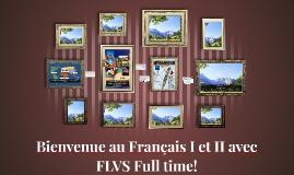Bienvenue au Français 1 et 11