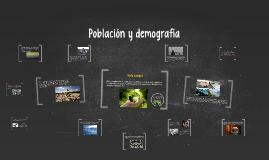 Población y demografía