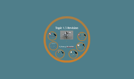 GCSE Unit 1.3 Revision