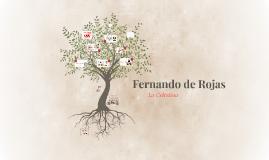 Copy of Fernando de Rojas