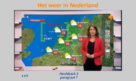 1HT H2 P7 Het weer in Nederland