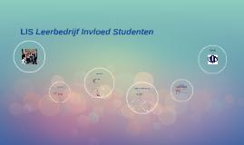 LIS Leerbedrijf Invloed Studenten