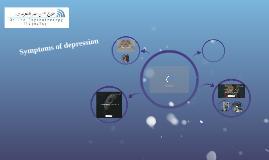 أهم أعراض الاكتئاب