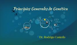 Principios Generales de la Genética