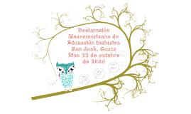 Copy of Declaración Mesoamericana de Educación Inclusiva a