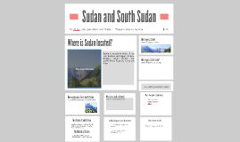Sudan and South Sudan
