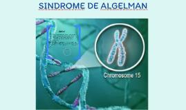 SINDROME DE ALGELMAN