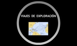 viajes  de  exploracion