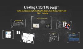 Creating A Start Up Budget