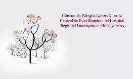 Informe de Riesgos Laborales en la Central de Esterilización