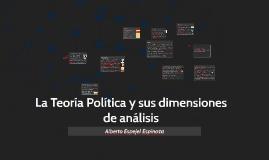 Harto de Vera-Unidades de análisis de la Teoría Política