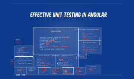 Effective Unit Testing in Angular