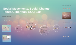 Copy of Social Movements, Social Change