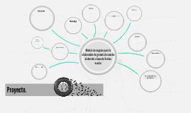 Modelo de negocio para la elaboración de granulo de caucho e