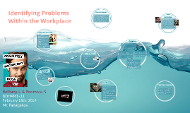 Identifying Problems Within the Workplace