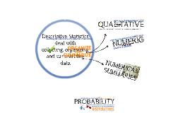Describing Data Using Excel