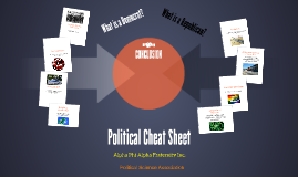 Political Sheet Cheat