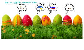 Easter Eggs in two countries