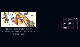 Copy of PRODUCTOS SUSTITUTOS Y COMPLEMENTARIOS