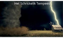 Het Schrickelik Tempeest