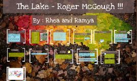 Copy of The Lake - Roger McGo