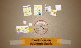 Exodoncia en odontopediatría