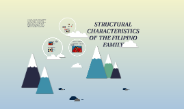 Copy of STRUCTURAL CHARACTERISTICS OF  THE FILIPINO FAMILY