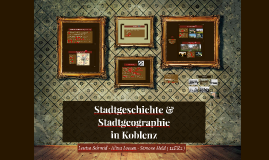 Stadtgeschichte & Stadtgeographie