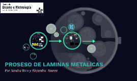 proceso de laminas metalicas