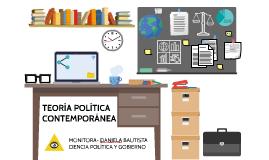 TEO. POL. CONTEMPORÁNEA