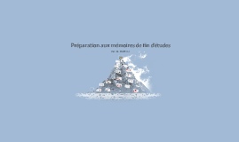 Méthodologie de Rédaction de Mémoire de Fin d'étude
