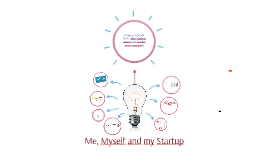 Me, Myself and My Startup