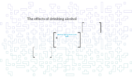 The affects of alcohol on the brain