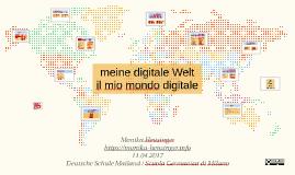 Kopie von Meine digitale Welt