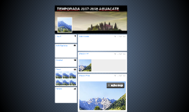 TEMPORADA 2017-2018 AGUACATE